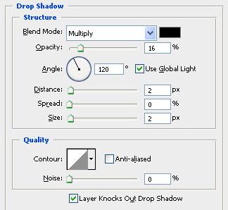 тень фотошоп