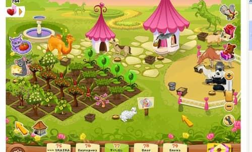 Счастливая ферма в одноклассниках